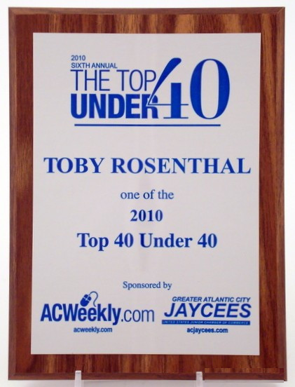 Plaque Full Satin Silver Aluminum Plate with Blue Lettering 6 x 8