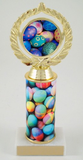 Logo Trophy with Easter Egg Custom Round Column-Trophies-Schoppy's Since 1921