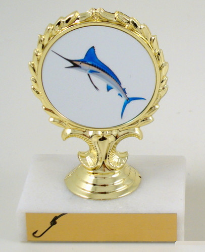 Fish Logo Trophy