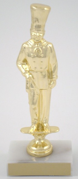 Chef Trophy Metal Figure on Marble base