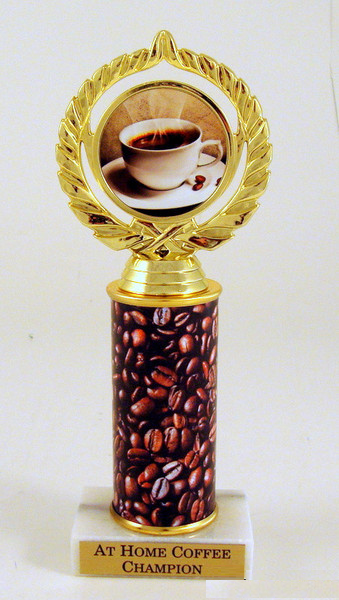 Coffee Original Metal Roll Column-Trophies-Schoppy's Since 1921