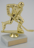 Inline Hockey Figure on Marble Base-Trophies-Schoppy's Since 1921