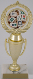 Mah Jong Logo on Cup-Trophies-Schoppy's Since 1921