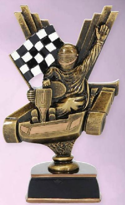 Go-Kart Resin Figure-Trophy-Schoppy's Since 1921