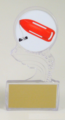 Lifeguard Small Crest of the Wave Trophy