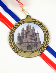 Sandcastle Logo Medal-Medals-Schoppy's Since 1921