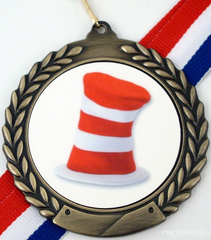 Hat Logo Medal-Medals-Schoppy's Since 1921