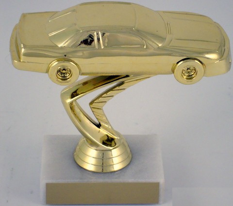 Stock Car Trophy on Marble Base-Trophies-Schoppy's Since 1921
