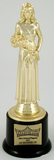 Pageant Round Base Trophy Medium-Trophies-Schoppy's Since 1921