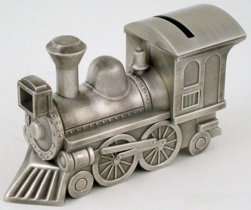 Train Bank by Creative Gifts-Gift-Schoppy's Since 1921