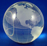 Globe Paperweight-Paperweight-Schoppy's Since 1921