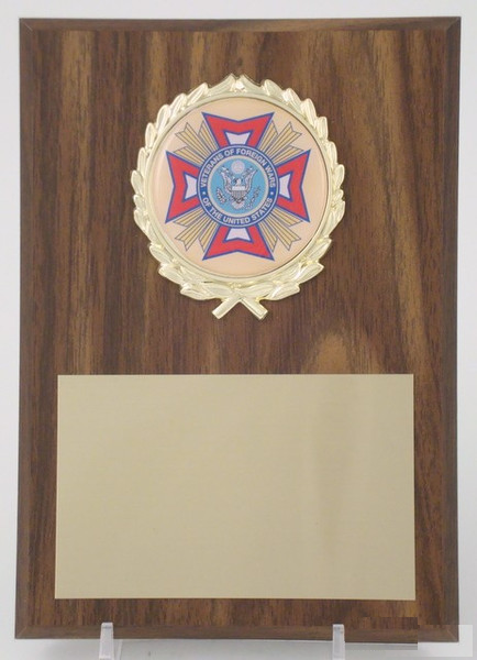 VFW 5x7 Plaque