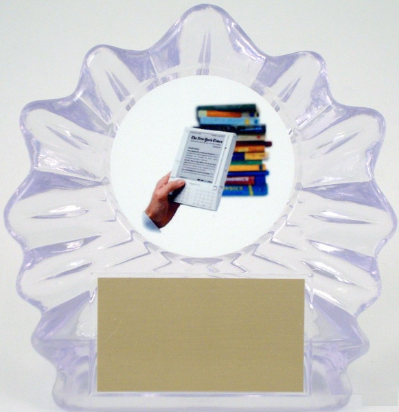 Kindle in Acrylic Trophy - Small-Trophies-Schoppy's Since 1921
