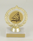 Sail Boat Logo Trophy Medium-Trophies-Schoppy's Since 1921