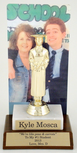Graduation Photo Backdrop Trophy-Trophies-Schoppy's Since 1921
