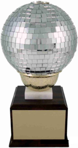 Large Disco Ball Trophy-Trophies-Schoppy's Since 1921