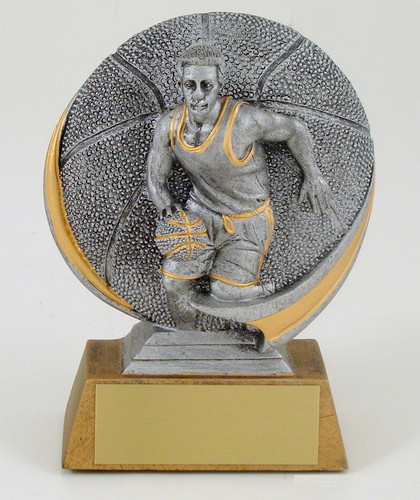 Basketball Motion Extreme Resin Trophy-Trophies-Schoppy's Since 1921