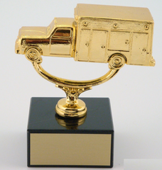 Ambulance Trophy on Black Marble Base-Trophies-Schoppy's Since 1921