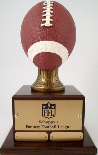Fantasy Football Trophy - Perpetual FF2 Natural-Trophies-Schoppy's Since 1921