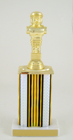 Foosball Wide Column Trophy-Trophies-Schoppy's Since 1921