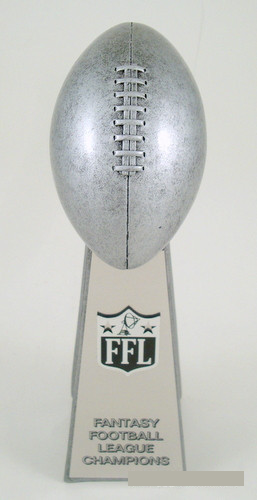Football Championship Resin Large Trophy-Trophy-Schoppy's Since 1921