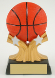 Basketball Shooting Star Resin Trophy-Trophies-Schoppy's Since 1921