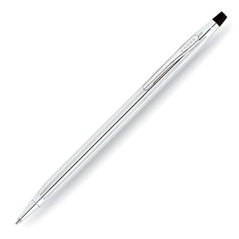 Cross Classic Century Lustrous Chrome Ball Point Pen-Pen-Schoppy's Since 1921