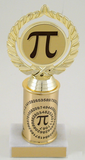 Pi Spiral Places Logo on Original Metal Roll Column Trophy-Trophies-Schoppy's Since 1921