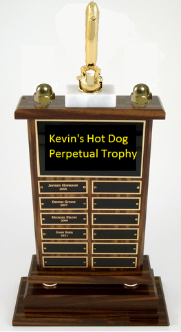 Hot Dog Perpetual Trophy SPT-Hot Dog-Trophies-Schoppy's Since 1921