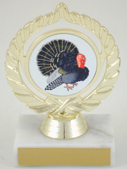 Full Color Turkey Trophy-Trophies-Schoppy's Since 1921