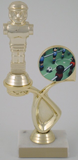 Foosball Trophy with Logo in Offset-Trophies-Schoppy's Since 1921