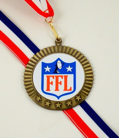 Fantasy Football League Medal-Medals-Schoppy's Since 1921