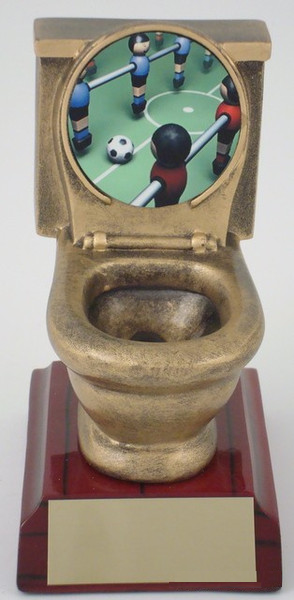 Foosball Toilet Resin-Trophies-Schoppy's Since 1921