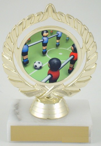 Foosball Logo Trophy-Trophies-Schoppy's Since 1921