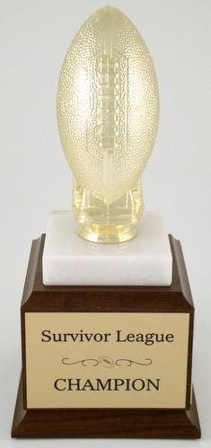 Golden Football Trophy-Trophies-Schoppy's Since 1921