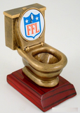 Fantasy Football League Toilet Resin-Trophies-Schoppy's Since 1921