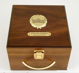 Walnut Crown Box S3L-Display Case-Schoppy's Since 1921