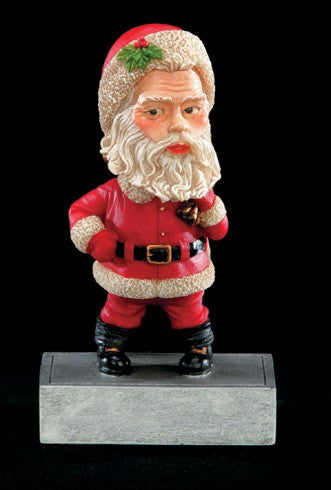 Santa Bobblehead Resin Trophy-Trophies-Schoppy's Since 1921