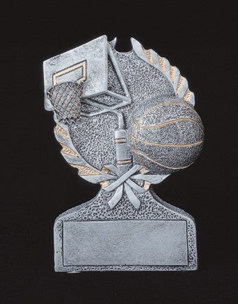 Basketball Action Sport Resin-Trophies-Schoppy's Since 1921