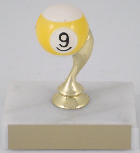 Billiards Trophy - 9 Ball