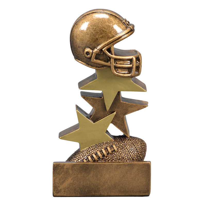 Star Step Football Resin-resin-Schoppy's Since 1921
