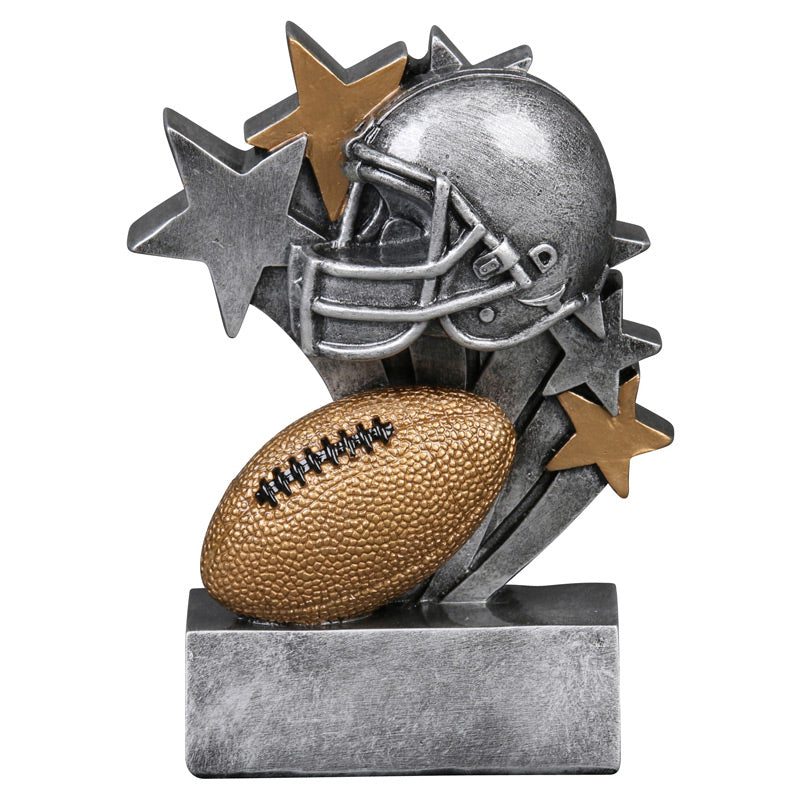 Football Star Blast Resin Trophy-Resin-Schoppy's Since 1921