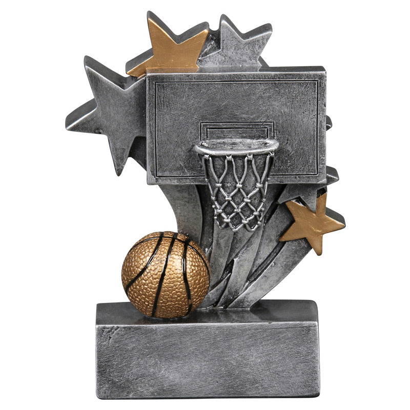 Basketball Star Blast Resin Trophy-Resin-Schoppy's Since 1921