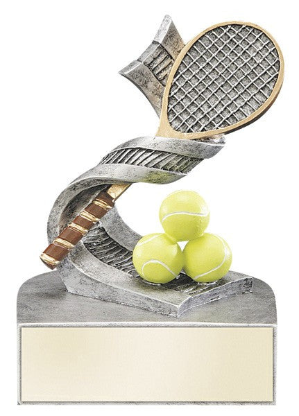 Color Tek Resin Trophy - Tennis-Trophies-Schoppy's Since 1921