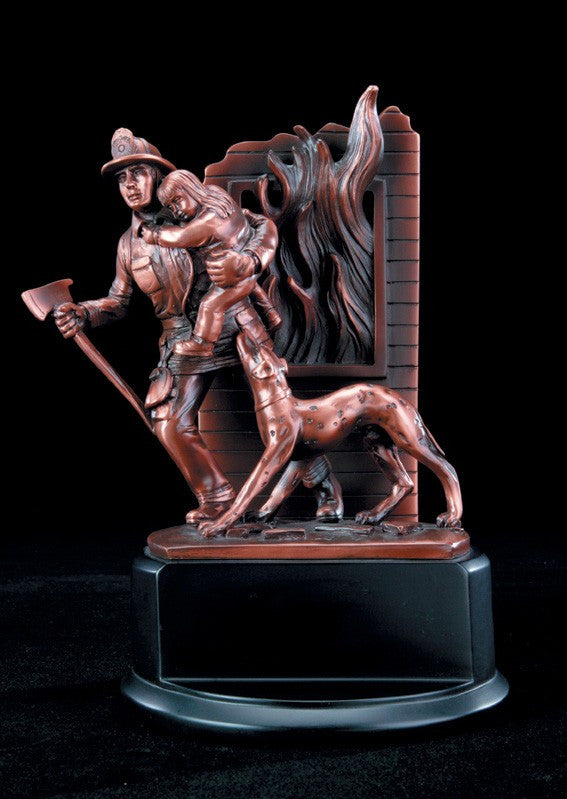 Signature Series Fireman Resin-Trophies-Schoppy's Since 1921