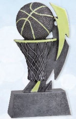 Glow In The Dark Basketball Resin Trophy-Resin-Schoppy's Since 1921