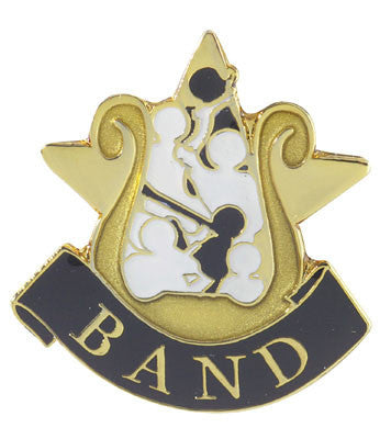 Band Achievement Lapel Pins