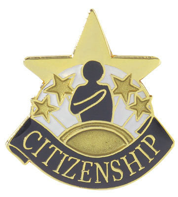 Citinzenship Achievement Lapel Pins