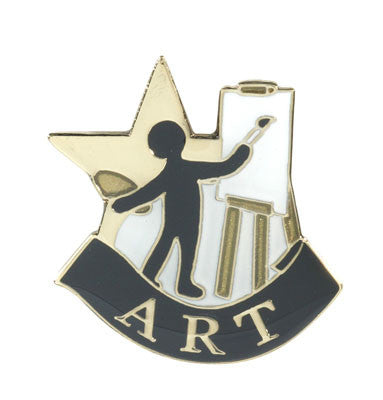 Art Achievement Lapel Pin