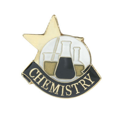 Chemistry Achievement Lapel Pins